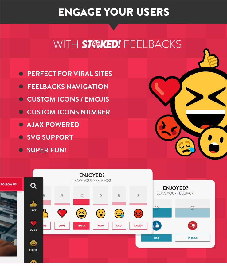 Stoked! - Irreverent Viral Magazine/News and Personal Blog WordPress Theme - wordpress, themeforest, blog-magazine